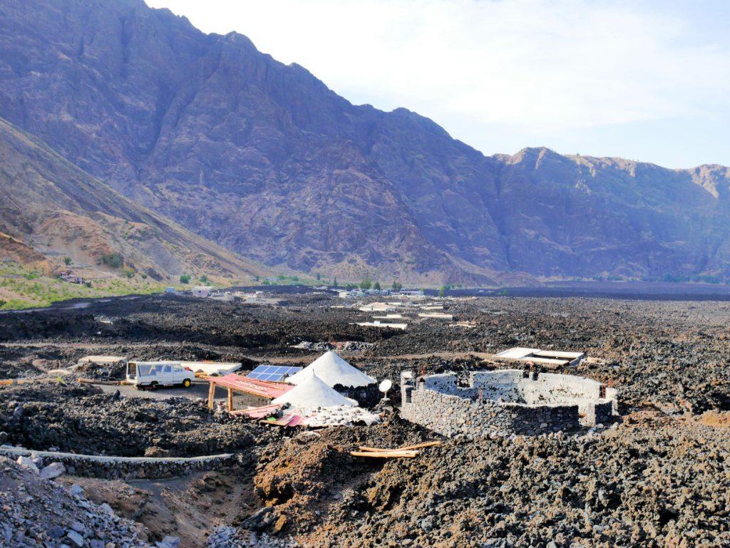Rebuilding on Fogo in Cabo Verde