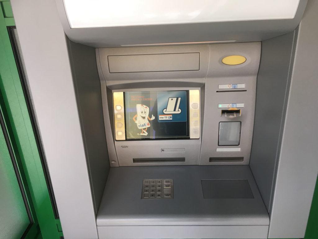 ATM in Cape Verde